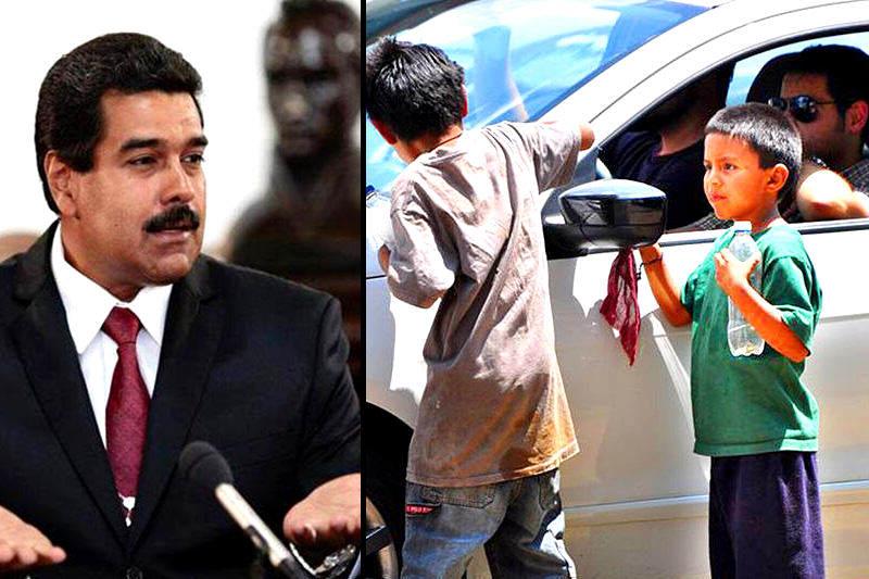 Maduro-y-niños-palestinos