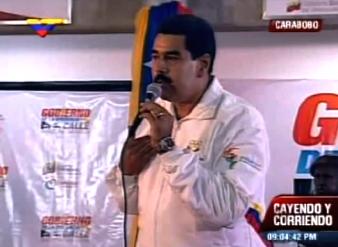 """Maduro denuncia que un grupo de expertos le quiere """"inocular"""" un veneno + VIDEO"""