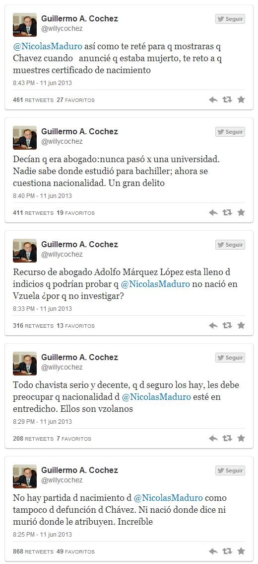 Guillermo Cochez reta a Nicolas