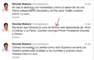 ¿Cuán graves son los errores ortográficos de Nicolás Maduro? + PRUEBAS