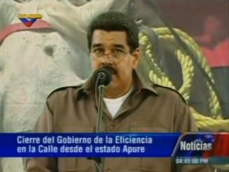 Maduro expropia su primer terreno sin debate + VIDEO