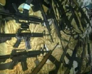 Descubra los armamentos militares que fueron encontrados en Sabaneta + FOTOS