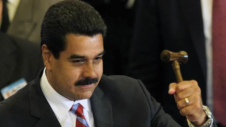 Maduro crea organismo para censurar medios y profundizar libertad de prensa