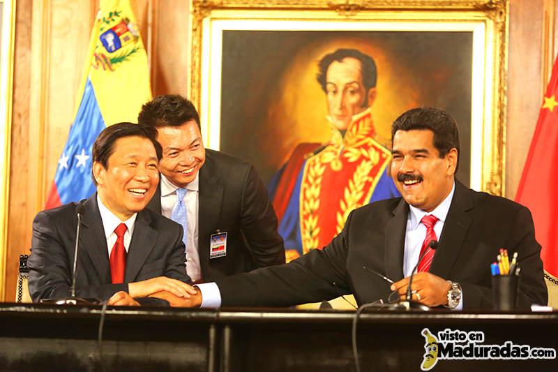 Maduro y chinos