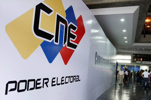 CNE cambian a candidatos