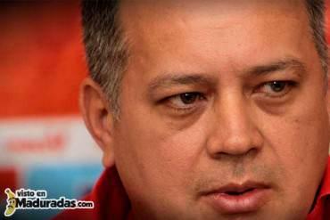 Cabello: La oposición pretende sacar a Maduro el 8-D + VIDEO + Zzzz