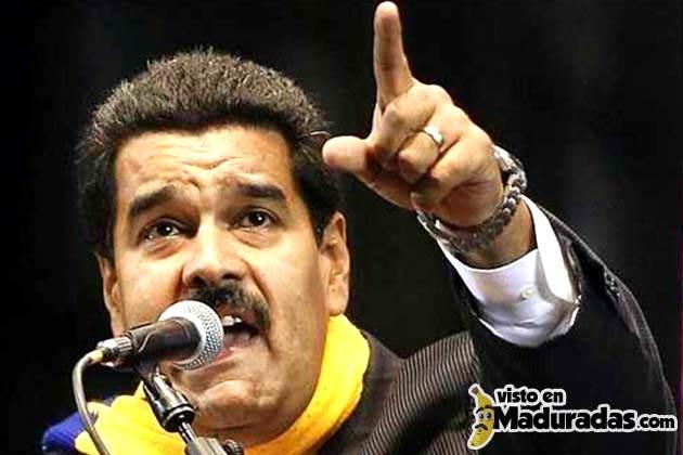 Maduro amenaza