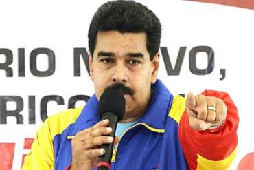 """Maduro anuncia la creación de tribunales especiales para luchar contra la """"usura"""""""