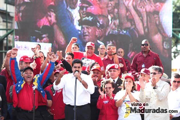 Maduro primero justicia