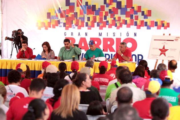 Maduro sobre marcha