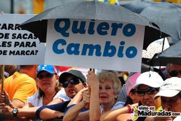 ¡TODOS A LA CALLE! Oposición protesta hoy en 335 municipios contra la crisis y la corrupción #23N