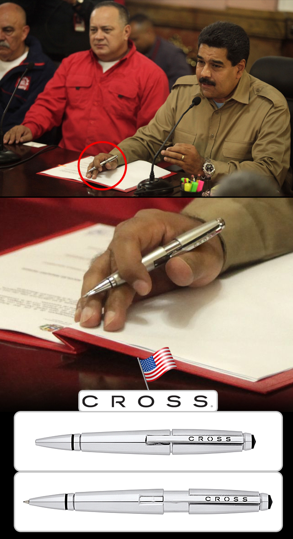 Pluma Cross de Maduro