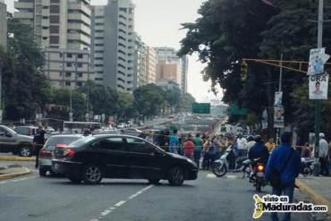 ¡SE CANSARON DE LAS MENTIRAS! Tranca por protesta contra Misión Vivienda + FOTOS