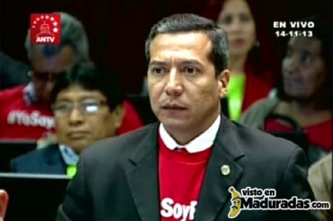 Así votó el salta talanquera William Ojeda a favor de la Habilitante + VIDEO