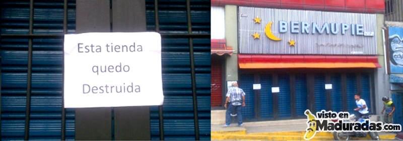 Cierra Zapateria por falta de inventario