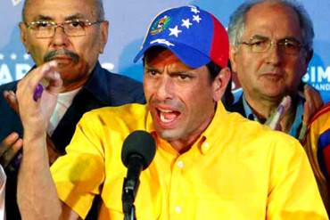 """""""¿NO LES DA PENA?"""" Capriles critica los paralelismos impuestos por el Gobierno"""