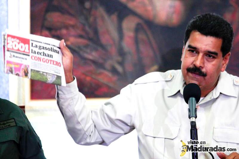 Nicolas Maduro Censura Medios de Comunicacion en Venezuela