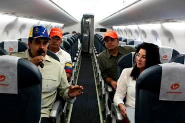 Maduro gastará Bs. 39,8 millones en viajes en 2015… ¡Y EL PUEBLO CON HAMBRE Y SIN VIAJAR!