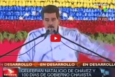 """¡MORIRÁS DE LA RISA! HUMOR: Maduro canta """"El burro mañoso"""" + VIDEO"""