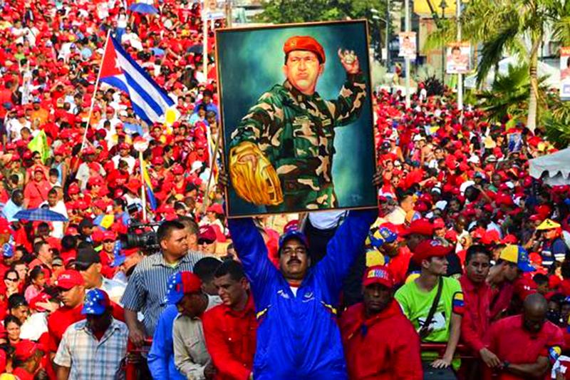 Idolatria a Chavez