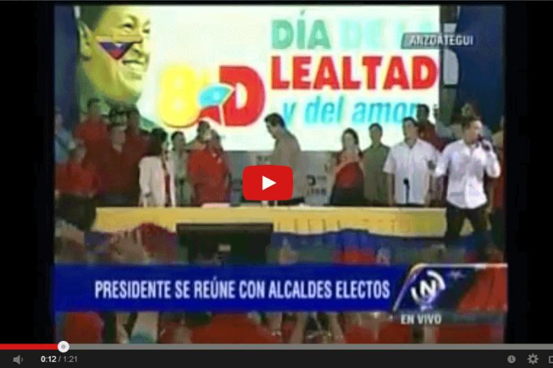 ¡IMPERDIBLE! En Video: Así bailó Maduro en la reunión con alcaldes oficialistas