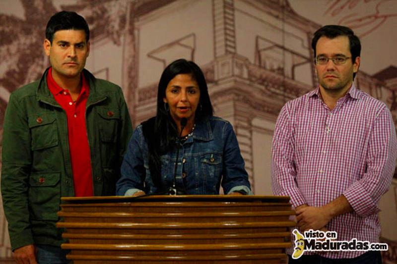 Ministra Delcy Rodriguez desde Miraflores