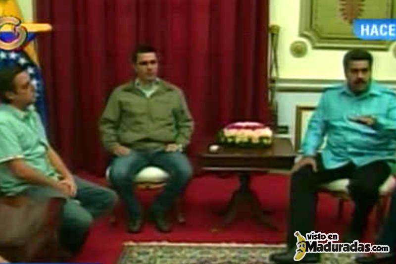 Maduro sobre monica spear