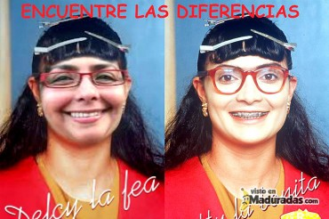 ¿SEPARADAS AL NACER? Juzgue usted… Delcy Vs. Betty la Fea + FOTOS