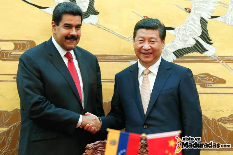 Nicolas Maduro y Li - Venezuela y China