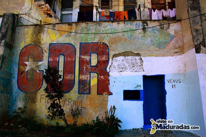 CDR en CUBA en paredes