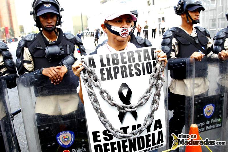 Libertad de expresion prensa censura a medios