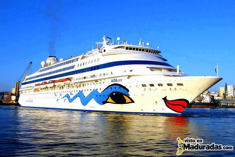 Cruceros AIDA suspende operaciones en Venezuela