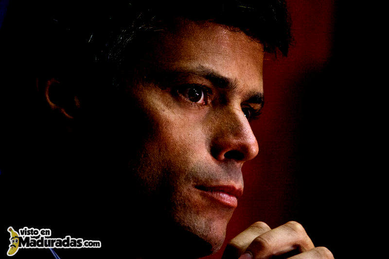 Leopoldo Lopez Voluntad Popular Dirigente MUD