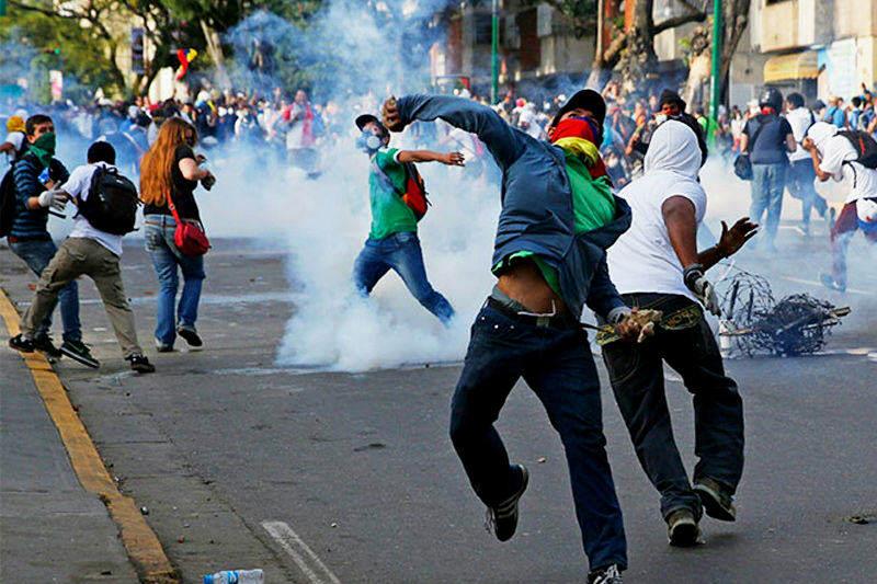 Violencia en Venezuela desatada en protestas