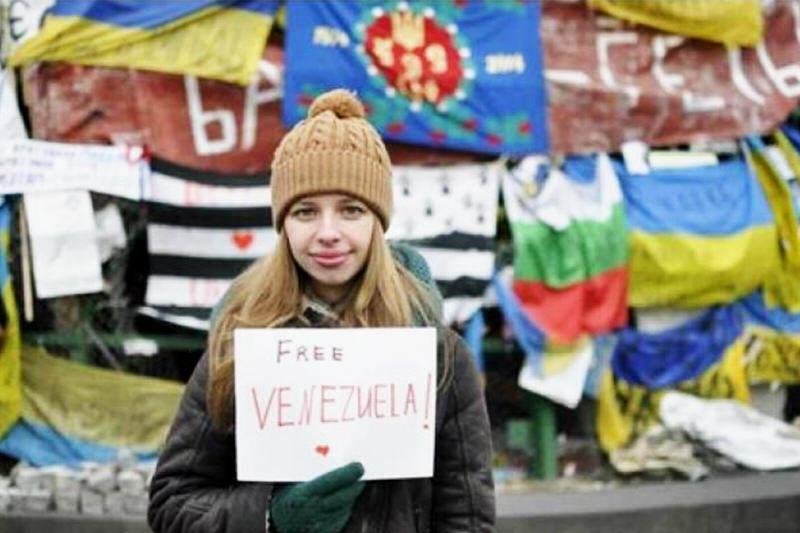 ucrania apoya a venezuela