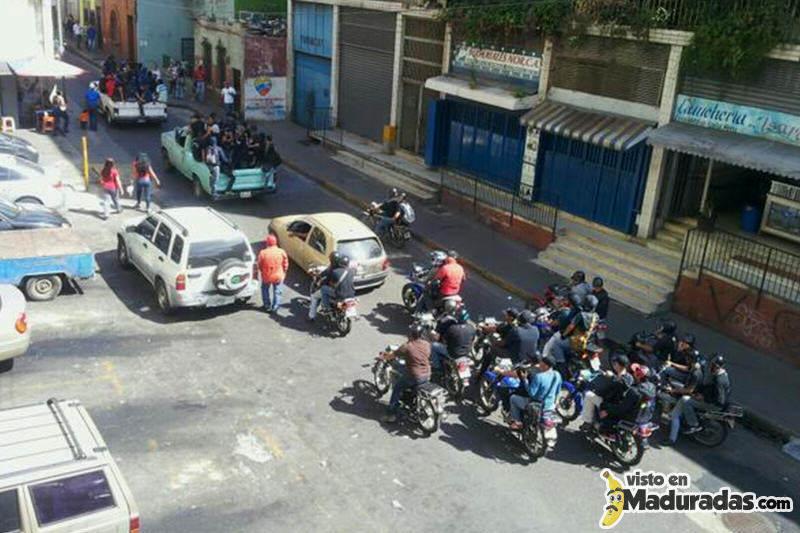 tupamaros motorizados fiscalia protesta