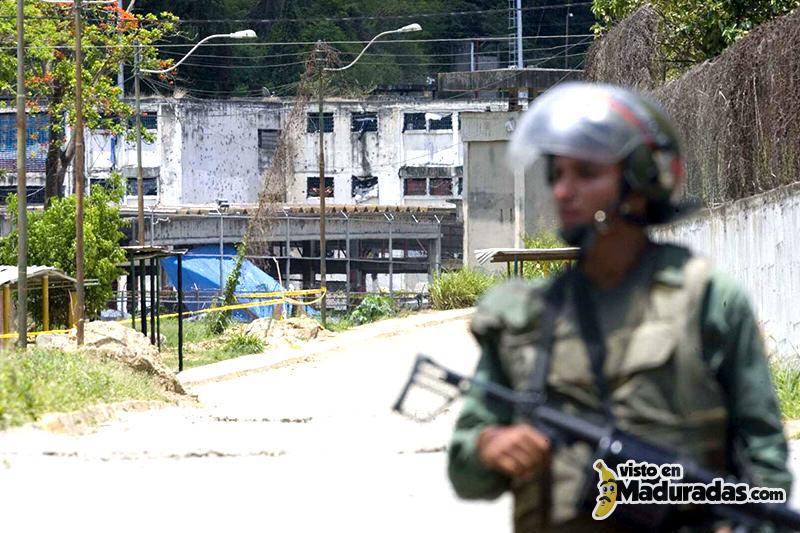 carcel en venezuela gnb