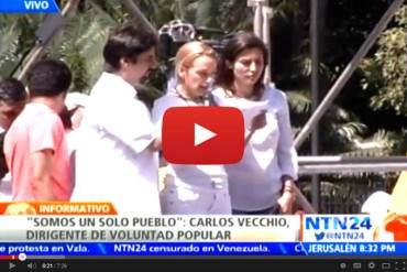 ¡ES CONTIGO NICOLÁS! En Video: Esta es la carta que envió Leopoldo López a Maduro