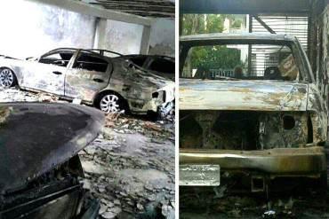 ¡DESASTRE! 50 vehículos quemados y daños a la propiedad dejaron colectivos en San Isidro