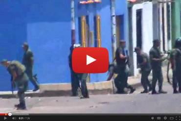 ¡SIGUEN LOS VIOLENTOS! Arremetida de GNB en Táchira deja más de 15 heridos (+FOTOS)