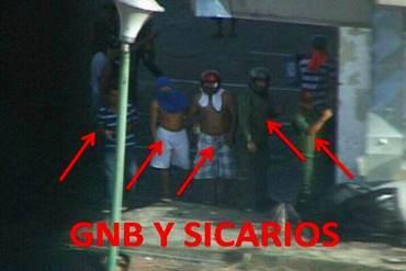 ¡GNB Y COLECTIVOS JUNTOS! Exclusivas imágenes del video que Globovisión censuró