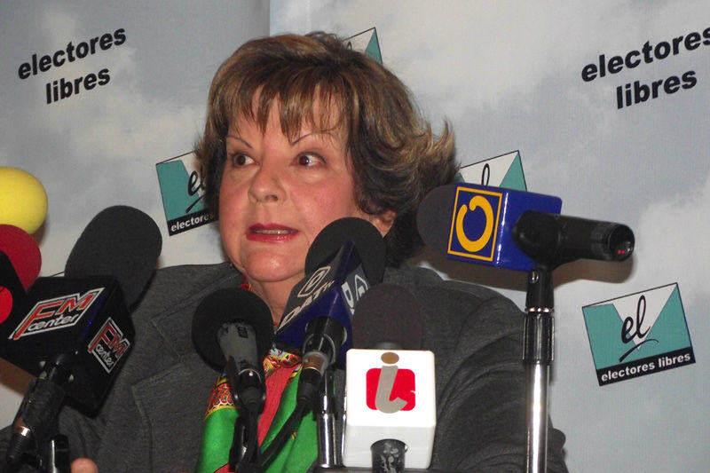 Cecilia Sosa Gomez Ex Magistrada en Venezuela