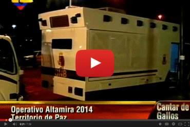 ¡VIGILAN A MANIFESTANTES Y NO A DELINCUENTES! Instalan sala de monitoreo para vigilar Chacao