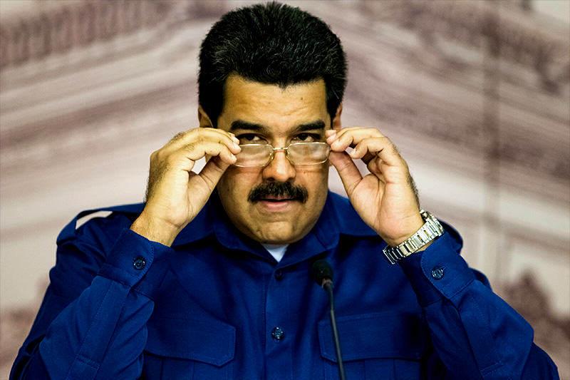 Nicolas-Maduro-heinz dieterich