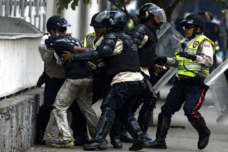 Protestas en Venezuela Violacion de Derechos Humanos