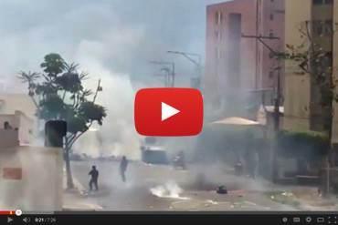 ¡REPRESIÓN BRUTAL! Denuncian más de 18 horas de represión y militarización en San Cristóbal
