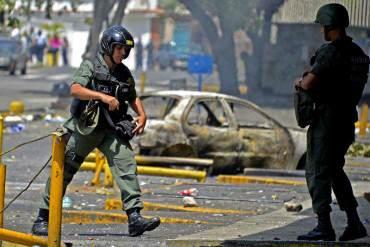 Murió Capitán de la GNB tras recibir disparo en la cabeza durante protesta en Maracay
