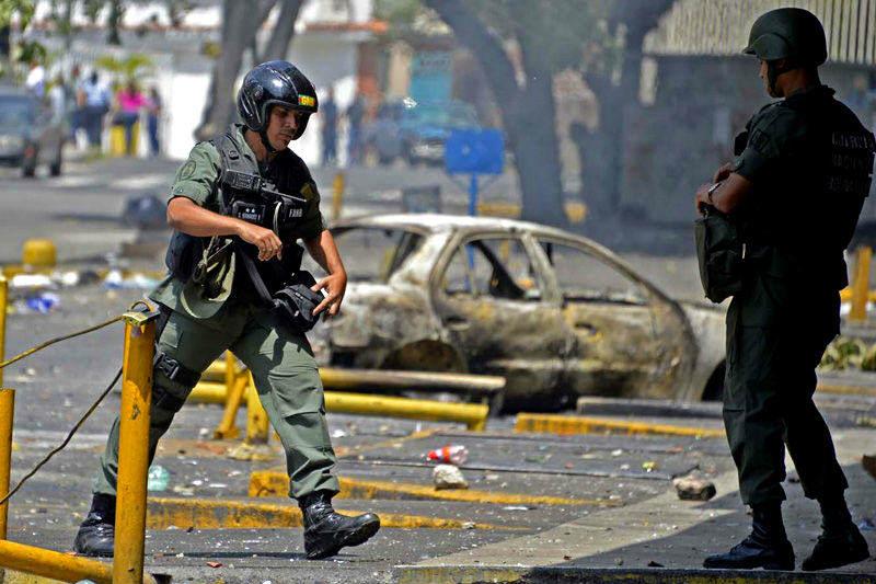 Se confirma muerte capitan de la GNB durante protesta en Maracay