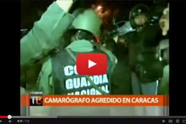 "¿LIBERTAD? GNB amenaza con ""desaparecer"" a periodista chileno que grababa protestas + VIDEO"