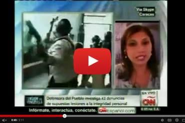 ¡BRUTAL! Así fue la violenta captura de un estudiante por la PNB desde un edificio en Altamira